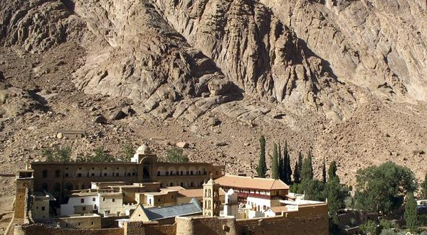 The tourists had arrived at the Taba crossing from the ancient Greek Orthodox St Catherine's monastery