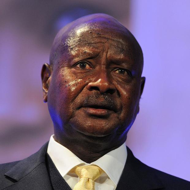 Ugandan president Yoweri Museveni has signed anti-gay measures into law
