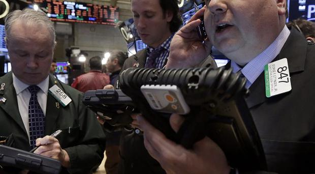 World stock markets have bounced back after tumbling over the Ukraine crisis (AP)
