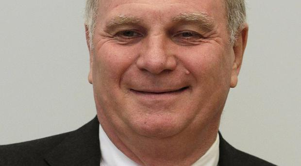 Bayern Munich president Uli Hoeness is accused of evading taxes (AP)