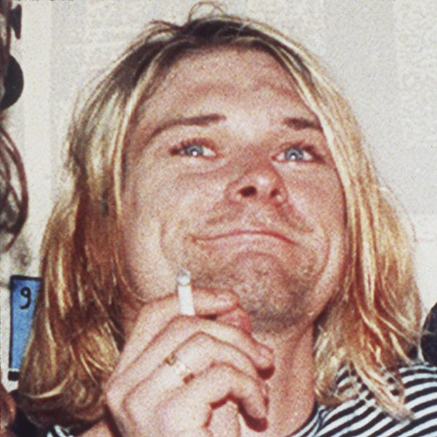 Seattle police release previously unseen evidence, discovered at the time of the Nirvana frontman's death