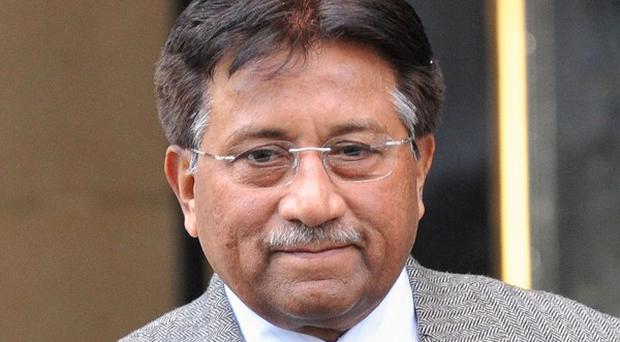 Former Pakistan president Pervez Musharraf has appeared in court
