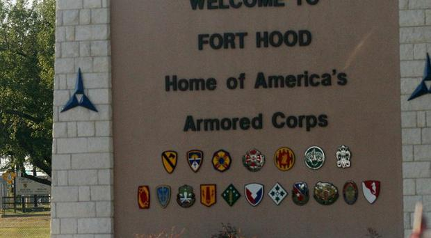 There has been a shooting at the US Army's Fort Hood base in Texas (AP)
