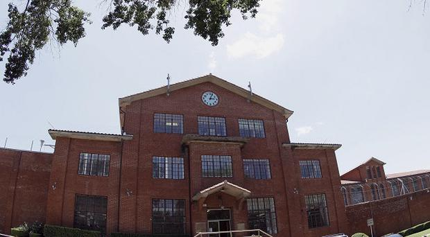 The Texas Department of Criminal Justice Huntsville Unit, where the death chamber is located (AP)