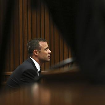 The defence has opened in the Oscar Pistorius murder trial (AP Photo/Themba Hadebe, Pool)