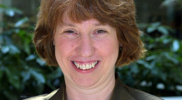 Catherine Ashton expressed caution on the progress of nuclear talks with Iran.