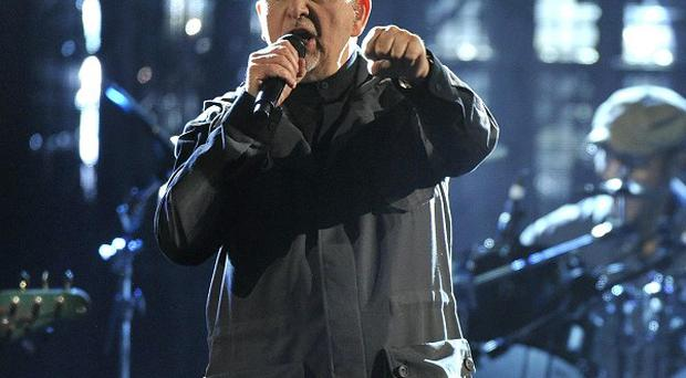 Peter Gabriel performs at the 2014 Rock and Roll Hall of Fame induction ceremony (Invision/AP)