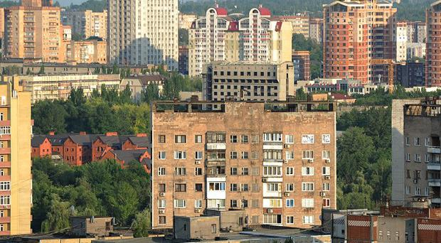 Donetsk has been the scene of pro-Russian protests.