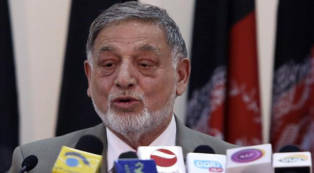 Ahmad Yousuf Nouristani, chairman of the Independent Election Commission, warned the front-runner could change