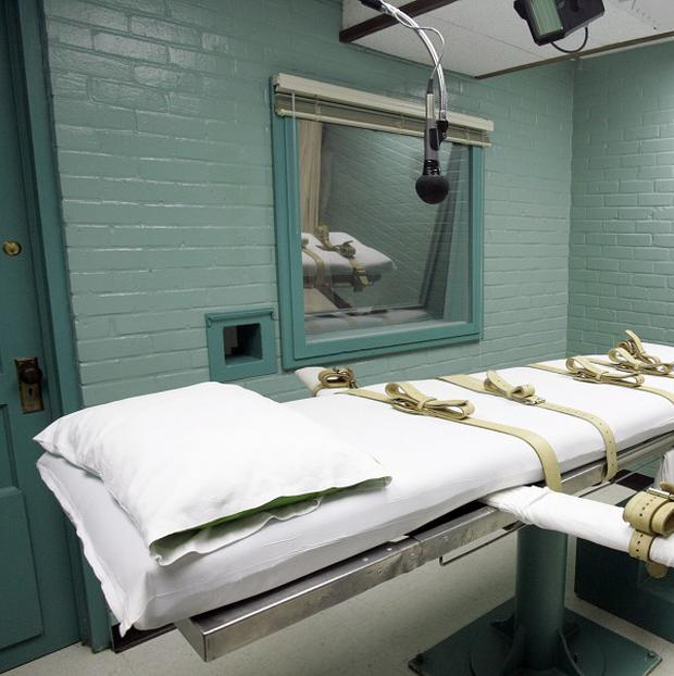 The death chamber in Huntsville prison, Texas (AP)