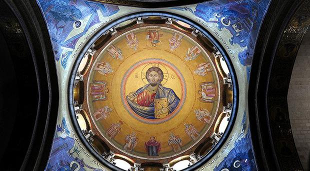 Christian tradition suggests the Church of the Holy Sepulchre in Jerusalem is the site of the crucifixion.