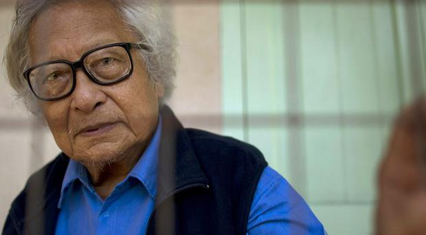 Burmese journalist and former political prisoner Win Tin has died aged 85 (AP)