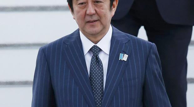 Japanese Prime Minister Shinzo Abe has sent a religious offering to a controversial war shrine
