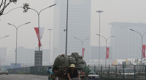 Smog is an issue in China