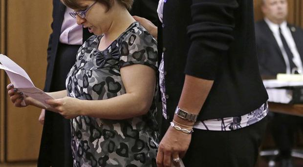 Michelle Knight was one of the three women help captive for nearly a decade in a Cleveland house (AP)