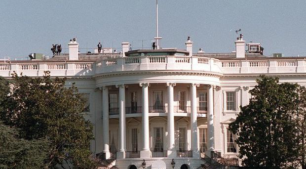 The White House is on lockdown because of a security breach
