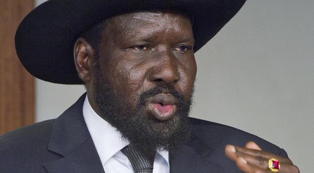 South Sudan's president Salva Kiir has reached a ceasefire deal with rebel leader Riek Machar (AP)