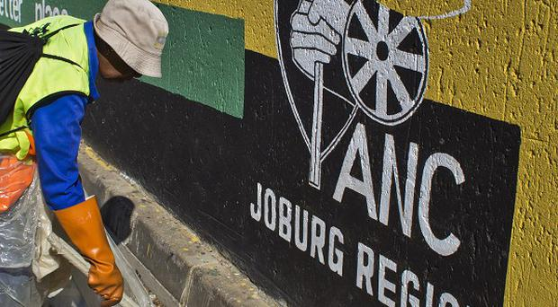With all 22,000 voting districts counted the African National Congress had 62.15% of the vote, the election commission said (AP)