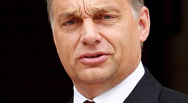 Viktor Orban said his re-election would allow him to continue with the policies of the past four years