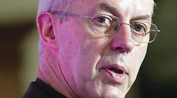Concern: Justin Welby