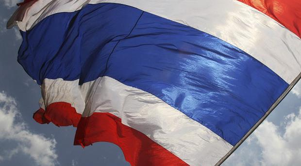 Thailand's foreign ministry first gave details about the plane crash in neighbouring Laos (AP)