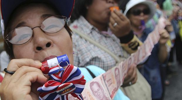 Anti-government protests continue on the streets of Bangkok, Thailand (AP)