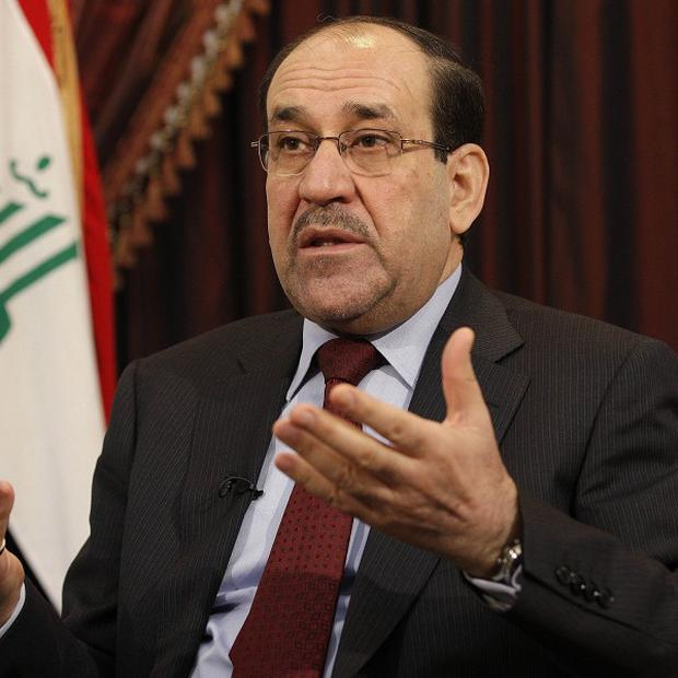 Iraqi prime minister Nouri al-Maliki's State of Law coalition has emerged as the biggest winner in the country's election (AP)