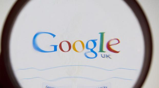 Google is building up overseas cash for a shopping spree costing nearly £18bn