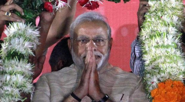 Narendra Modi's inauguration will be held on Monday (AP)