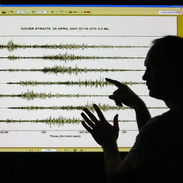 A British tourist is reported to have been injured in an earthquake in northern Greece.