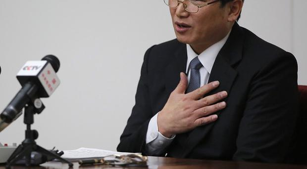 Kim Jung Wook is the latest in a string of missionaries to run into trouble in North Korea (AP)