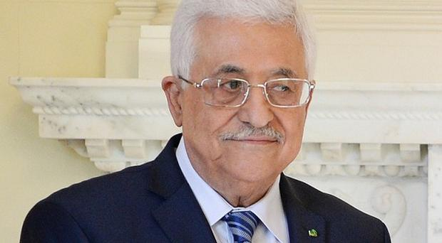 Palestinian president Mahmoud Abbas has sworn in a unity government