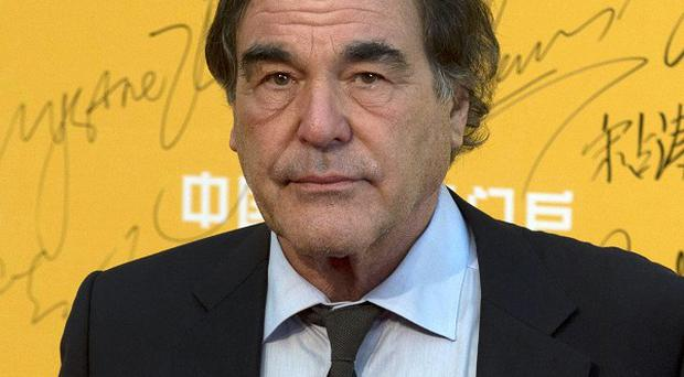 Director Oliver Stone is to make a film about whistleblower Edward Snowden (AP)