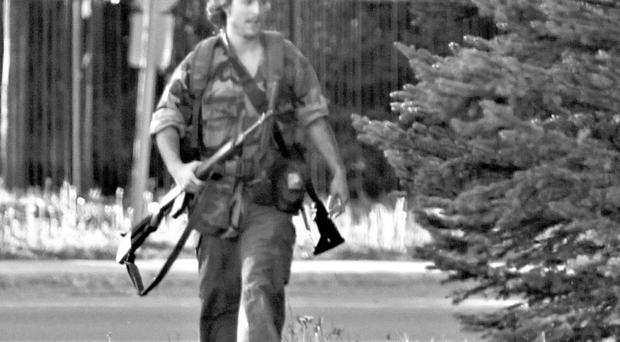 Murder suspect Justin Bourque was held following manhunt in city of Moncton