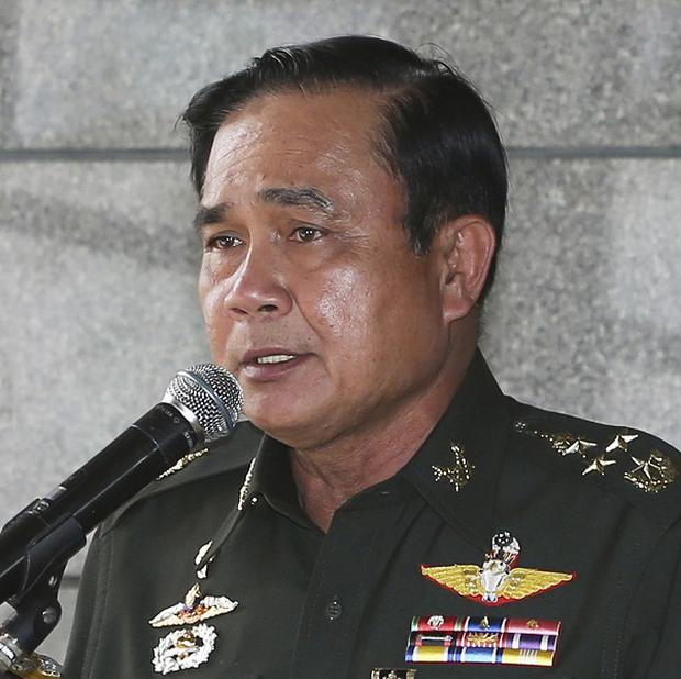 Army commander Prayuth Chan-Ocha, the head of Thailand's military junta (AP)