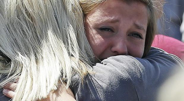 The shooting shocked residents of Troutdale, Oregon (AP)