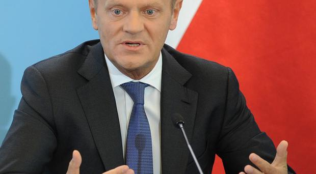 Polish prime minister Donald Tusk said he would not resign over a political crisis sparked by eavesdropping on political leaders