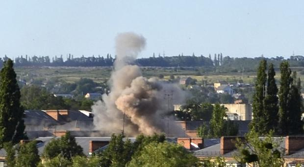 The Ukrainian army has been fighting pro-Russian rebels in the east for weeks