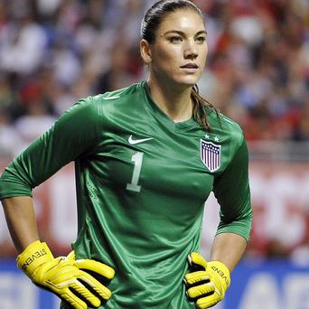 US football star Hope Solo has been arrested for attacking her sister and nephew (AP)