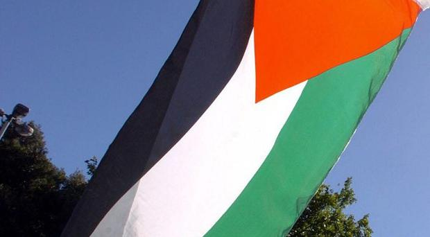 A Palestinian medical official said the girl died when a rocket exploded in the northern Gaza Strip