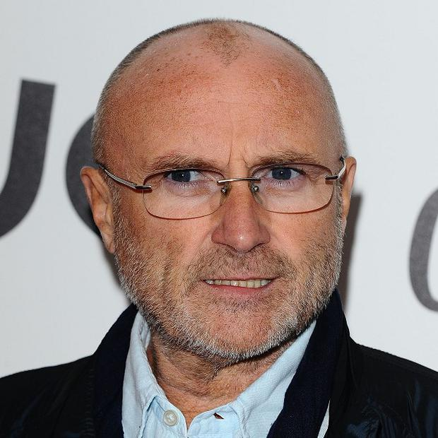 Phil Collins is donating his vast collection of Alamo artefacts (AP)