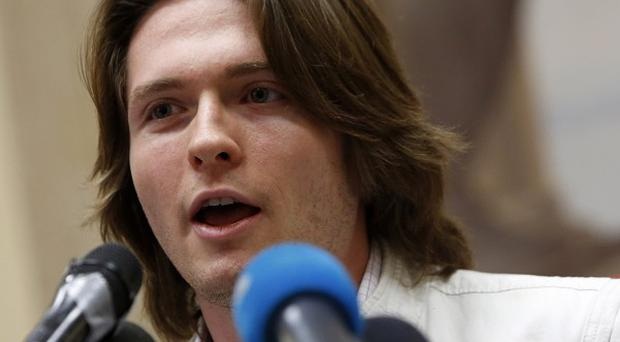 Raffaele Sollecito says his American ex-girlfriend has provided alibis for him over the 2007 murder of her British room-mate (AP)