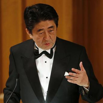 Shinzo Abe says a North Korean committee has the mandate for a serious investigation into abductions of Japanese people