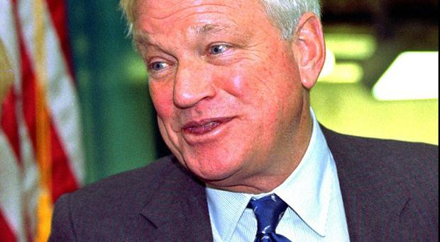 Billionaire Richard Mellon Scaife has died (AP Photo/Keith Srakocic, File)