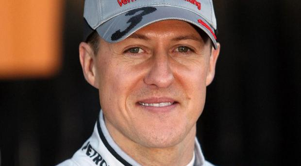 A Swiss air service that moved the injured Michael Schumacher wants an investigation into his stolen medical files