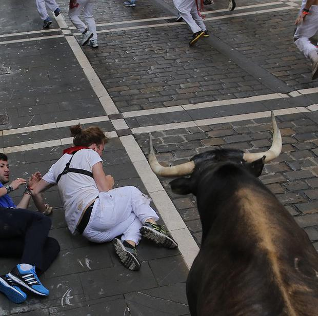 Revellers from around the world arrive in Pamplona every year to take part in the running of the bulls
