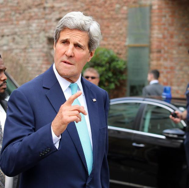 John Kerry arrives in Vienna for talks on Iran's nuclear programme