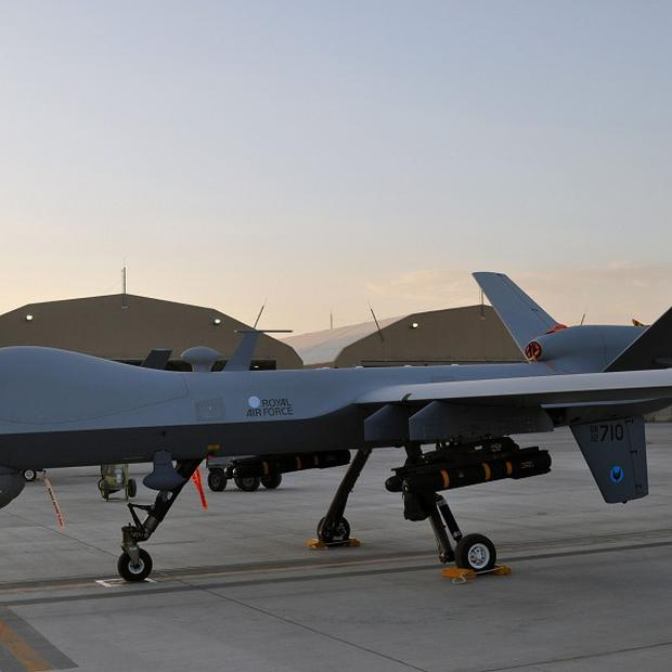 A US drone has targeted militants in Pakistan