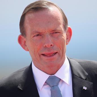 Sexist: Oz PM Tony Abbott