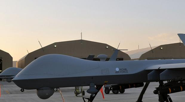 Eleven militants were killed when a US drone fired several missiles at a sprawling compound in Pakistan's north-western tribal region